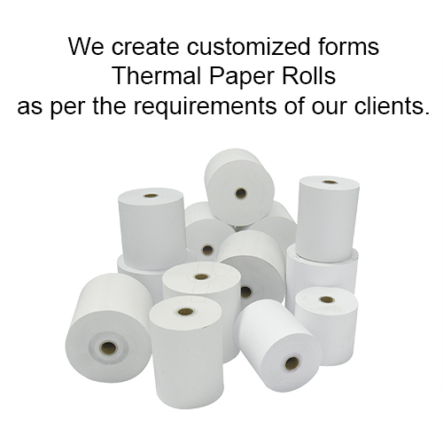 Pre-Printed Thermal Paper rolls